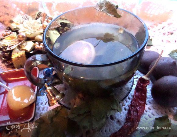Согревающий чай со специями