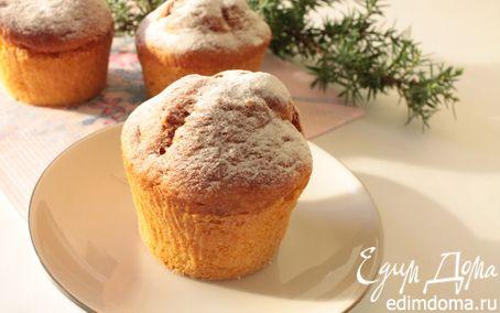 Рецепт Творожные кексы с кукурузной мукой