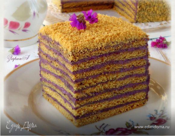 """Торт медовый """"Кадриль"""""""