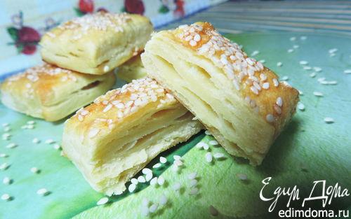 Рецепт Слоеное картофельное печенье
