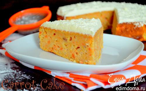 Рецепт Морковно-яблочный пирог