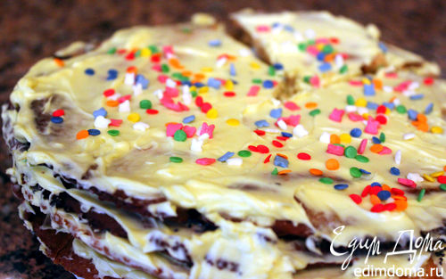 Рецепт Ароматный торт с лимонным кремом
