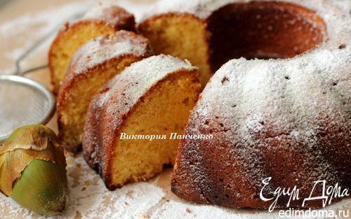 Рецепт Кукурузно-кокосовый заварной кекс