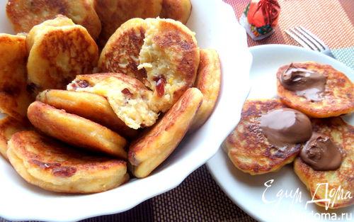 Рецепт Тыквенно-творожные оладушки