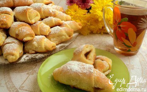 Рецепт Рогалики с начинкой