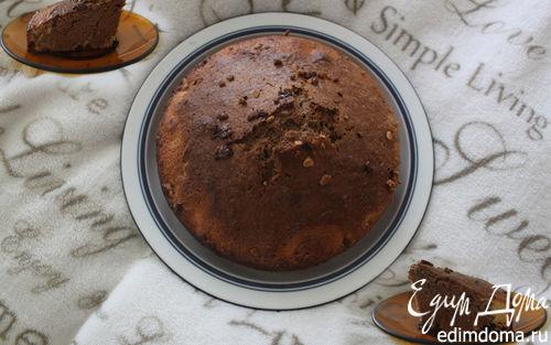 Рецепт Двухцветный бисквитный тортик