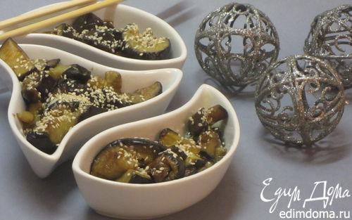 Рецепт Пряные баклажаны