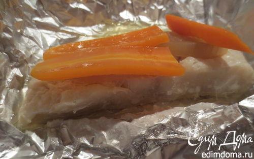 Рецепт Рыба в фольге с овощами