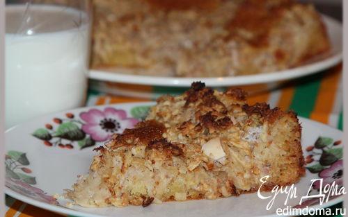 Рецепт Яблочный пирог с белым шоколадом