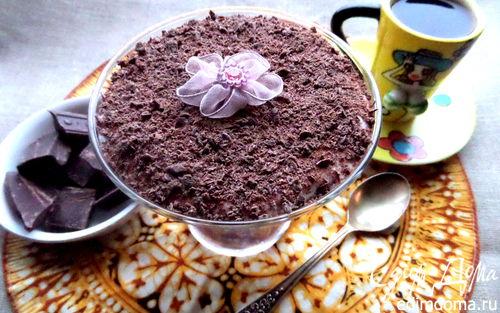 Рецепт Тирамису с шоколадной крошкой