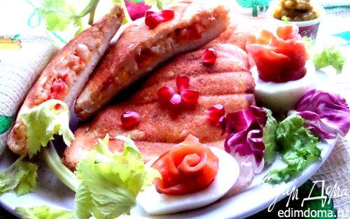 Рецепт Бутерброды с крабовой начинкой