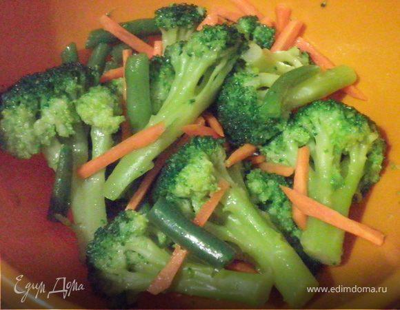 Салат с брокколи