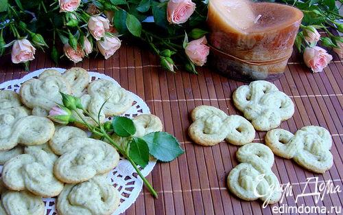 Рецепт Тающее мятное печенье