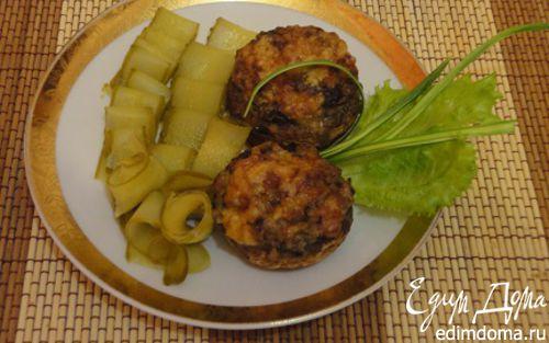 Рецепт Шампиньоны, запеченные с сыром