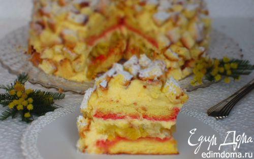 """Рецепт Торт """"Мимоза"""" от Сальваторе де Ризо"""