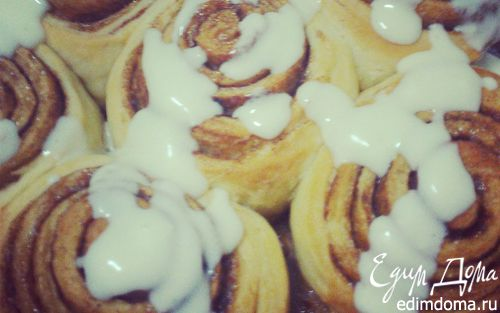Рецепт Синнабон Роллс (Cinnamon Rolls)