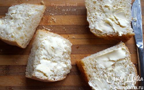 Рецепт Крестьянский хлеб с хрустящей корочкой
