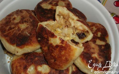 Рецепт Украинские картопляники с постной начинкой