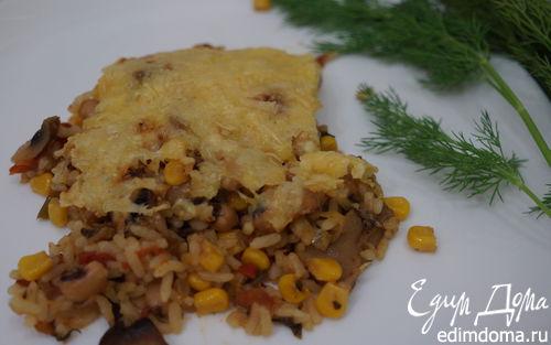 Рецепт Овощная запеканка с сальсой