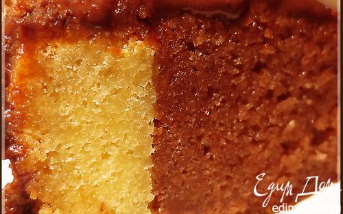 Рецепт Черно-белый торт