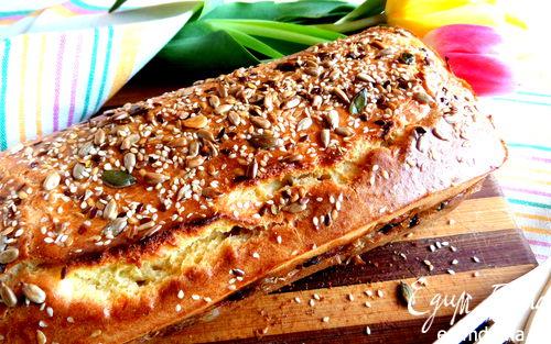 Рецепт Пирог с капустой и черносливом
