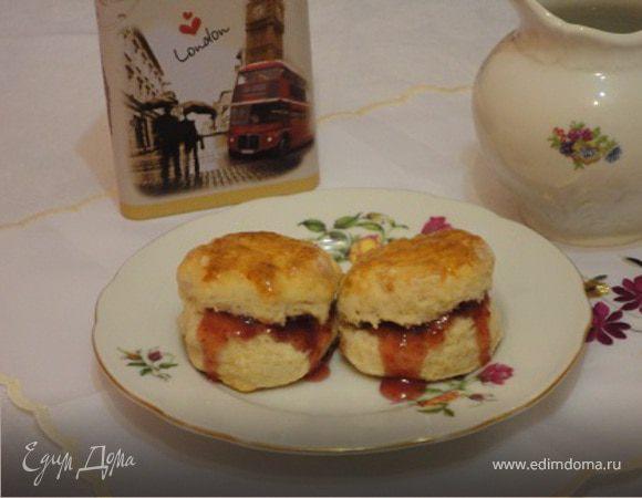 Кефирные сконы (Buttermilk scones)