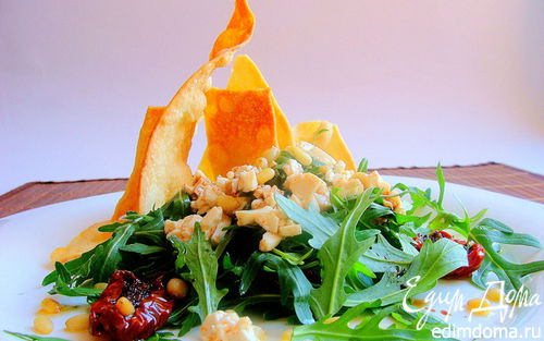 "Рецепт Зеленый салат ""Мерцающий"""