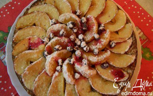 Рецепт Пирог с яблоками и клюквой