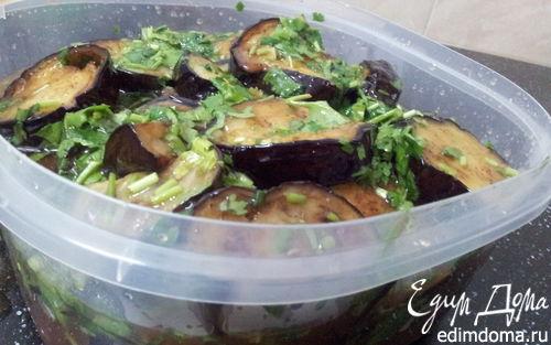 Рецепт Баклажаны в томатном маринаде