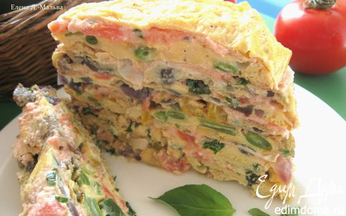 Рецепт Закусочный торт из Прованса