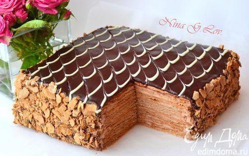 Как оформить торт дома фото