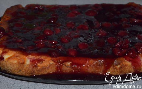 Рецепт Чизкейк с вишневым желе