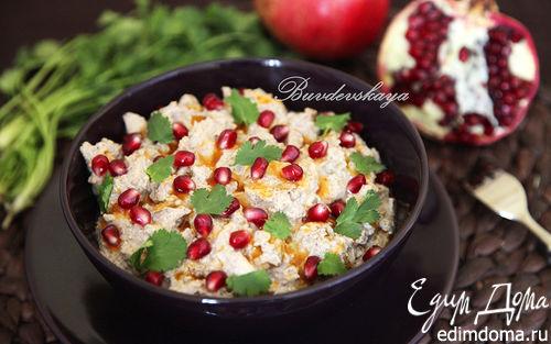 Рецепт Сациви из курицы с ореховым маслом