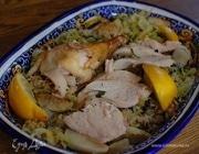 Пилаф с цыпленком и топинамбуром