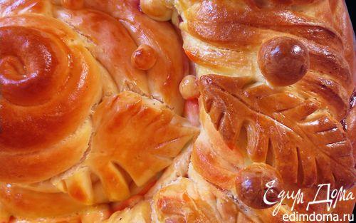 Рецепт Пасхальный пирог (фигурная выпечка)