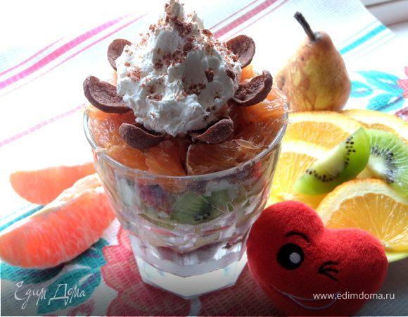 Салат-коктейль со сливками