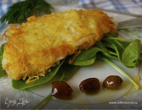 Рыбка в картофельной корочке