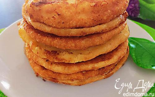 Рецепт Лепешки с сыром и картошкой