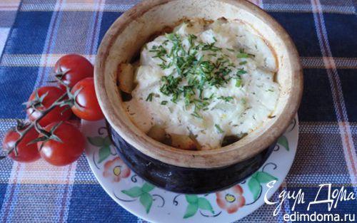 Рецепт Ушное в горшочках (для Вики Ла Ванда)