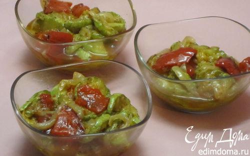 Рецепт Салат из обжаренных овощей