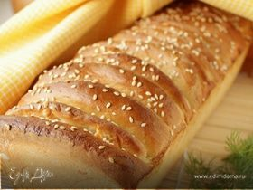 Хлеб с сыром и укропом