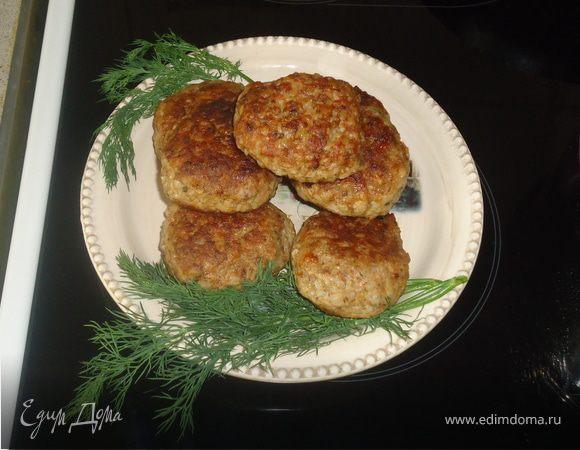 рецепт котлет с гречкой с фото