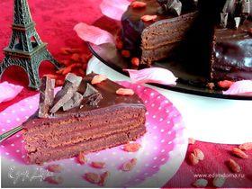 """Торт """"Шоколадный мусс"""" (без муки)"""