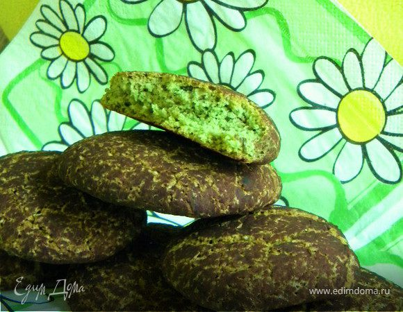 Французское мятное печенье