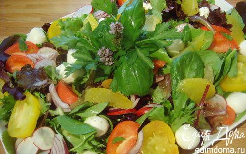 Рецепт Яркий летний салат