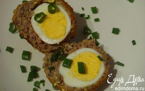 Рецепт Яйца во фритюре по-шотландски
