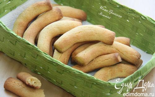 """Рецепт Итальянское кукурузное печенье """"Крумири"""" («Krumiri»)"""