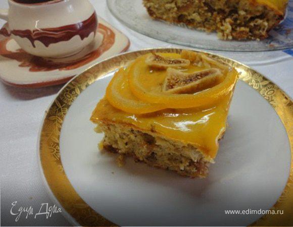 Пирог с инжиром