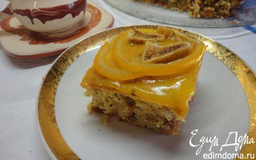 Рецепт Пирог с инжиром