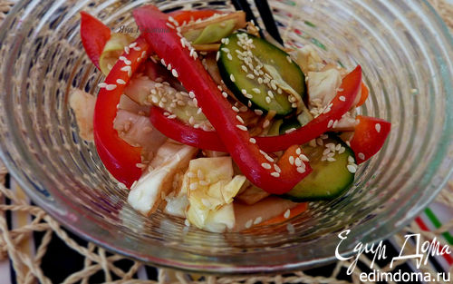 Рецепт Быстромаринованные овощи
